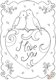i love you printable coloring pages i love you