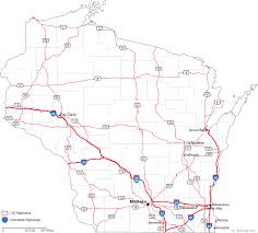 wisconsin map usa map of wisconsin