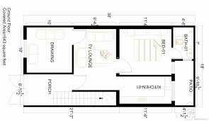 3 marla house map gharplans pk