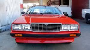 maserati chennai 1985 maserati bi turbo coupe biturbo poor man u0027s ferrari 41k