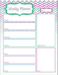 printable one week calendar calendar picture templates