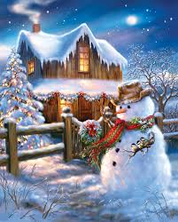 country christmas the country christmas jigsaw puzzle puzzlewarehouse
