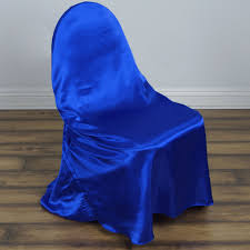 royal blue chair covers royal blue universal satin chair covers efavormart