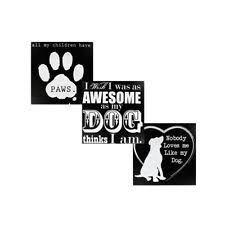 Home Decor Plaques Wooden Dog Home Décor Plaques U0026 Signs Ebay