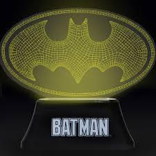 Batman Lights Gaming U0026 Movie Novelty Lamps U0026 Neon Lights Yellow Bulldog