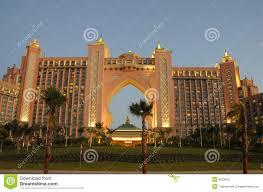 hotel atlantis hotel atlantis in dubai stock image image of jumeirah 8333815