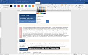 using text boxes in your microsoft office resume youtube