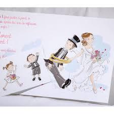 mariage humoristique faire part mariage humoristique mariés enfants faire part select