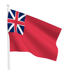 British Flag With Red British Red Ensign Flag Flags International