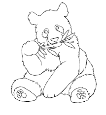 inspirational panda coloring page 86 for coloring for kids with