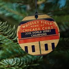 cub world series ornament 2016 wood ornament