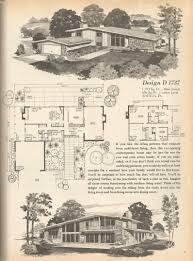 vintage house plans mid century homes 1970s homes mid century