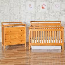 Davinci Emily 4 In 1 Convertible Crib Da Vinci 2 Nursery Set In Oak Emily 4 In 1 Convertible