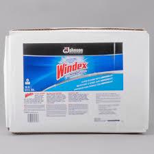 sc johnson windex 696502 5 gallon 640 oz bag in box rtu