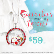 december origami owl special with dreamworks exclusive santa