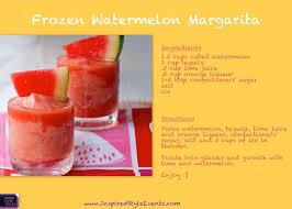 watermelon margarita on the border wedding signature drink frozen watermelon margarita recipe