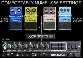 David Gilmour Comfortably Numb David Gilmour Tone Building