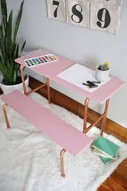 bureau pour enfant diy un bureau pour enfant en bois et cuivre floriane lemarié