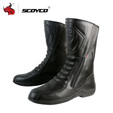 leather motorbike boots online buy wholesale motorcycle sport boots from china motorcycle
