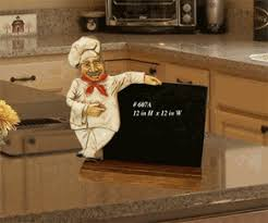 Kitchen Fat Chef Decor Fat Chef Kitchen Chalkboard Fat Chef D Cor Tuscan Italian