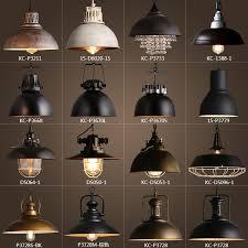 rustic industrial pendant lighting vintage rustic metal lshade edison pendant l lights retro