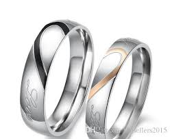 the one ring wedding band 2017 rings heart stainless steel wedding bands promise