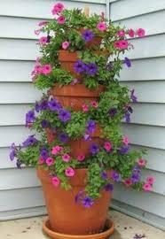 Summer Flower Garden Ideas - summer flower pot idea garden flower and solar lighting ideas