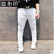 Boys White Skinny Jeans Online Shop Children U0027s Clothing Male Child Jeans 2016 Spring And
