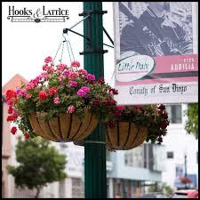 Hanging Flower Pot Hooks Hanging Basket Brackets Outdoor Hanging Flower Baskets Lamp Post