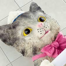 cat toilet paper holder emilyevanseerdmans com
