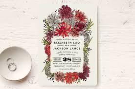 minted wedding invitations dahlia bouquet wedding invitations by alethea and ruth minted