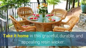the portside 5 piece all weather wicker dining set tortuga outdoor