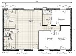 plan de maison plein pied gratuit 3 chambres plan de maison plain pied gratuit 3 chambres idées décoration