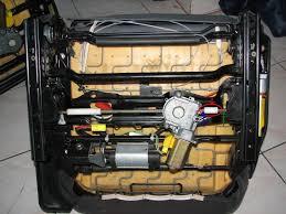 mécanisme siège électrique cassé