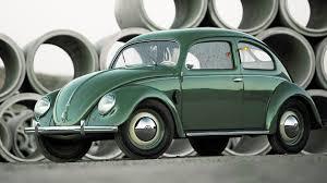 old volkswagen yellow classic