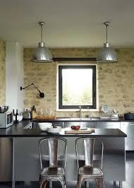 habillage mur cuisine cuisine moderne et pratique 20 bonnes idées côté maison