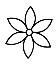 printable coloring pages of pretty flowers simple flower coloring pages denvermetro info