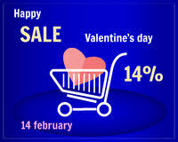 s day shopping sale text in shopping cart royalty free stock photo image 30232835