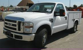 2008 Ford F350 Utility Truck - 2008 ford f250 super duty xlt utility truck item e7924 s
