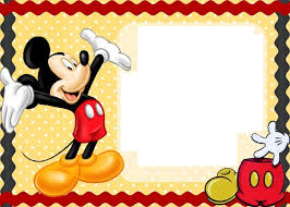 free printable mickey mouse baby shower invitation idea baby