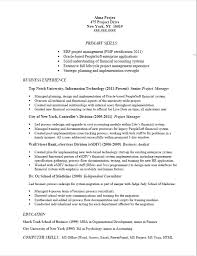 Sample Resume For Project Manager by Sample Resume Job Descriptions Free Resumes Tips