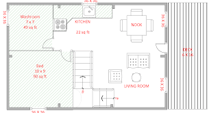 floor plans for cabins 16 x34 with loft plus 6 x34 porch side 50 ingenious ways you can do with small cabin floor plans room for a