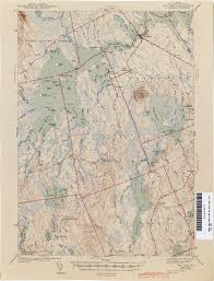 Princeton Map Maine Historical Topographic Maps Perry Castañeda Map Collection