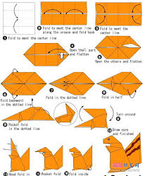 Easy Origami Peacock - squirrel origami do origami