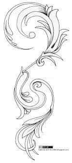 tattoos and doodles flourish ornamental