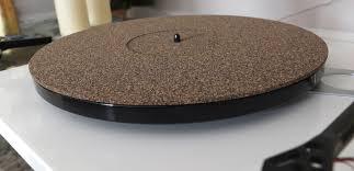 platter mat studio cork rubber turntable mat