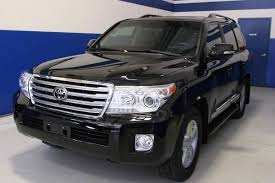 bulletproof 2014 toyota land cruiser