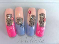 bear nail art designs nail art ourson teddy bear nail art