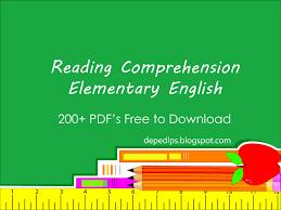 Comprehension Worksheets For Grade 8 Elementary Reading Comprehension In English With Worksheets Part 1