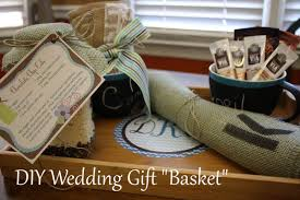 Wedding Gift Basket Diy Wedding Gift